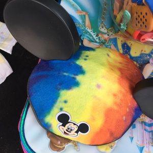 Tie dye Mickey Mouse ears